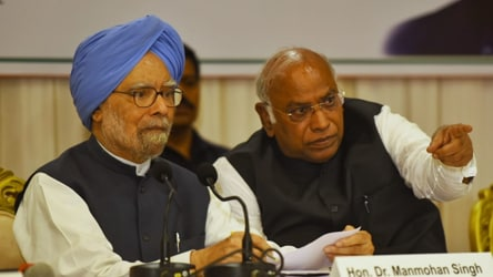 'Maharashtra hit by grave economic slowdown,' says Manmohan Singh