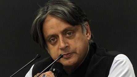 'Vituperative mudslingling': Tharoor attacks Pak for raising Kashmir issue