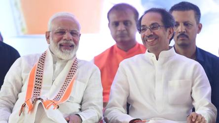 PM Modi makes final poll pitch with 'brother' Uddhav Thackeray