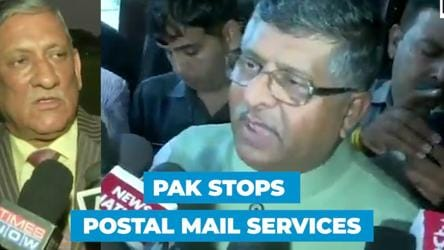 'Pakistan is Pakistan': RS Prasad says after Pakistan stops postal services