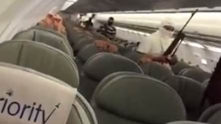 Plane 'hijacking' video scares people, later turns out to be a drill