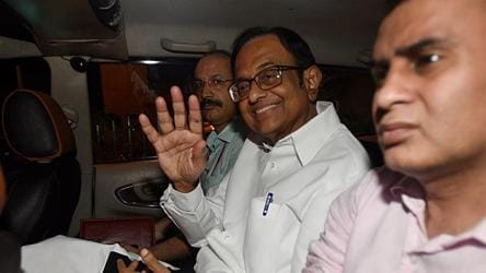 Chidambaram gets bail in CBI case, to remain in ED custody