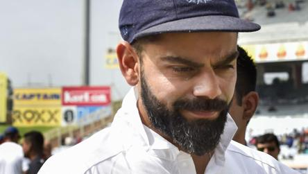 Kohli speaks about Sourav Ganguly's appointment as BCCI president