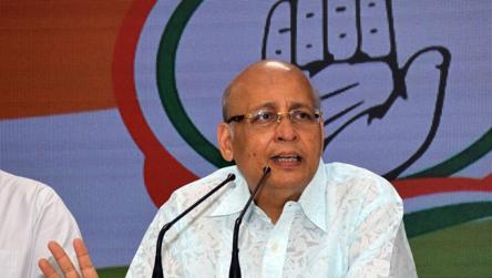 Don't subscribe to Savarkar's ideology but he fought for Dalits: Singhvi