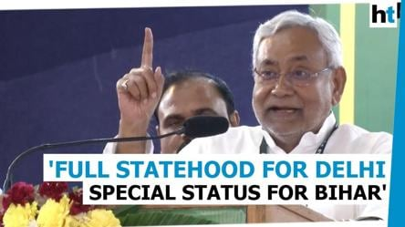 Nitish Kumar backs full statehood for Delhi, special status for Bihar