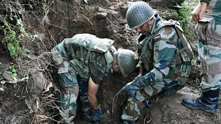Army officer, 3 militants killed in Jammu and Kashmir