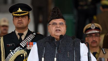 Malik may be Lt Guv of Jammu and Kashmir, Ladakh Union territories
