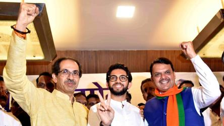BJP, Shiv Sena set to retain hold of Mumbai