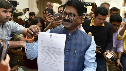 In his reply to query on Sena-BJP ties, Arvind Sawant drops a big hint