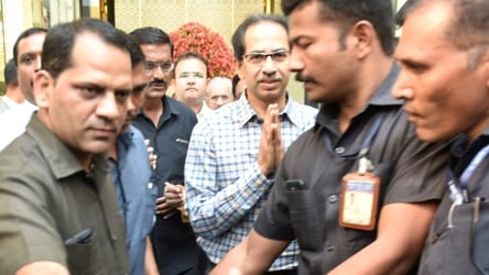 Sena boss in mission mode to firm up pact, gives a one-line status report