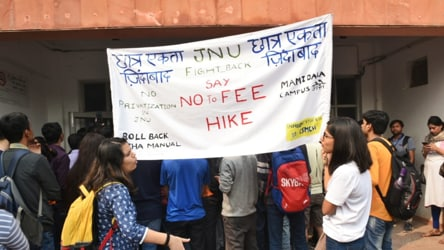 JNU blinks, halves proposed hostel fee hike, scraps curfew rule