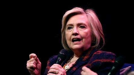 Hillary Clinton says she is 'being urged' to enter 2020 presidential race