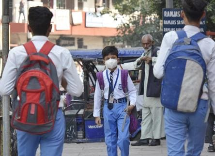 As experts warn of worse air days, Delhi schools suspend classes