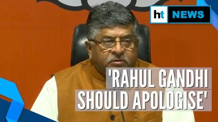 'Rahul, Congress should apologise': BJP after SC's verdict on Rafale