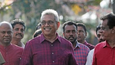 Gotabaya Rajapaksa wins Sri Lanka presidential election