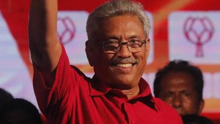 Sri Lanka strongman Gotabaya Rajapaksa set to become president