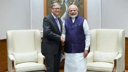 'His zeal is making our planet a better place': PM Modi on Bill Gates