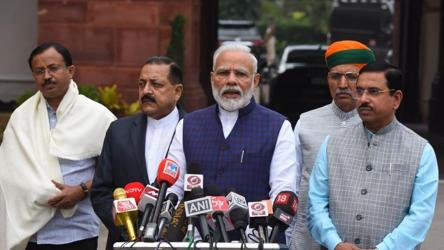 'Want frank discussion on all matters': PM Modi on winter session