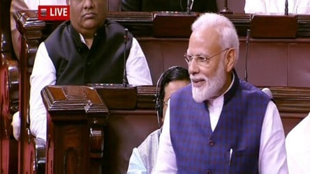 'Soul of India's federal structure': PM Modi at Rajya Sabha's 250th session