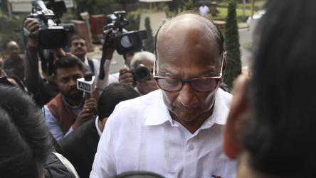 'Achha?': Sharad Pawar's cryptic reply on tie-up with Shiv Sena