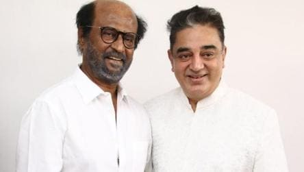 'In Tamil Nadu's interest': Rajinikanth on joining forces with Kamal Haasan