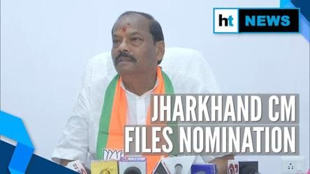 Jharkhand CM Raghubar Das files nomination from Jamshedpur East