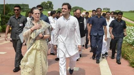 'Not normal protectees': Cong protests withdrawal of Gandhis' SPG cover