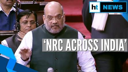 Amit Shah confirms pan-India NRC; clarifies on Citizenship Amendment bill