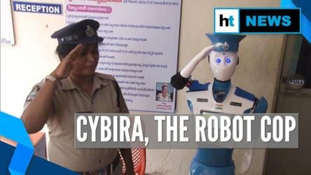 Meet CYBIRA, Visakhapatnam's robot cop