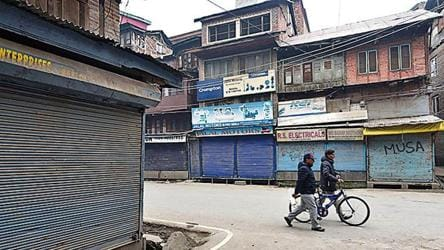 Strike in Valley, day after Amit Shah's normalcy remark