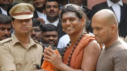 Self-styled godman Nithyananda has fled the country, confirms Gujarat police