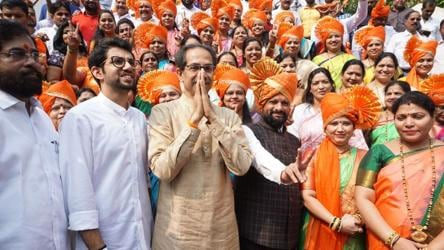 At crucial Shiv Sena meet, chorus for Uddhav as Maharashtra CM grows