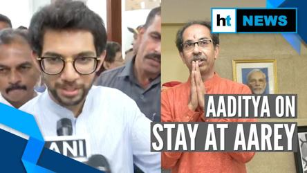 'Without harming environment': Aaditya Thackeray on metro shed stay at Aarey