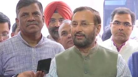 'Violated bail conditions on very first day': Javadekar on Chidambaram