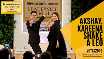 Watch: When Akshay and Kareena grooved to 'Sauda Khara Khara' at #HTLS 2019
