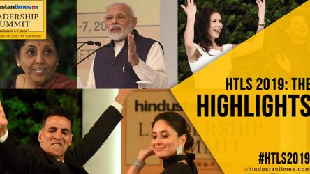 PM Modi, Sitharaman, Catherine Zeta-Jones, Kareena: #HTLS2019 highlights