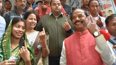 Jharkhand assembly poll: CM Das, Speaker, ex-Maoist in fray for 2nd phase