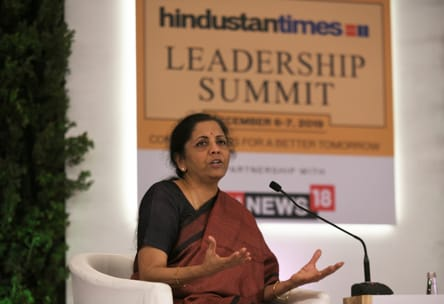 Tax rate cut on table to boost economy: Nirmala Sitharaman at HTLS 2019