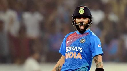 Virat Kohli surpasses Rohit Sharma to reclaim T20I world record