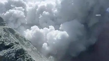 One dead after New Zealand volcano erupts; many injured, reported missing