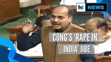 India moving from 'Make in India' to 'Rape in India': Adhir Ranjan Chowdhury