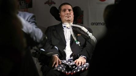 US athlete Pete Frates who inspired 'ice bucket challenge' dies at 34