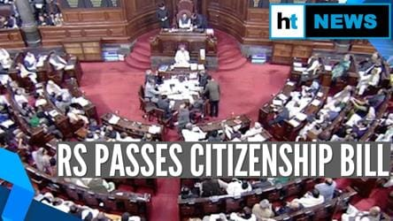 Rajya Sabha passes Citizenship Amendment Bill amid protests