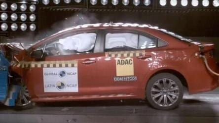 Watch: Toyota Corolla 2020 smashes past crash test with five-star safety rating