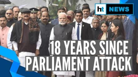 PM Modi, other parliamentarians pay tribute to 2001 Parliament attack victims