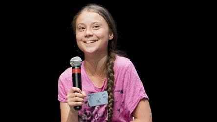 Greta Thunberg 'chilling, watching movie' after Trump's anger management dig