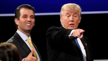 Trump Jr says father's re-election campaign will be like Bollywood films