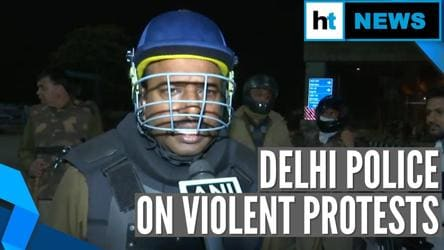 'Situation under control now': Delhi cop on violent protest | Citizenship law