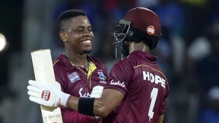 Chennai ODI: Shimron Hetmyer, Shai Hope deliver big win