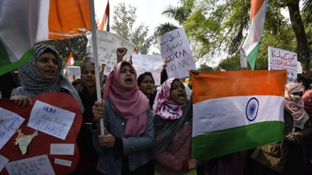 'You are not alone': Jamia's V-C backs her students after violent protests